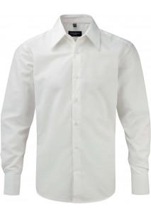Men's Long Sleeve Tencel Fitted Shirt