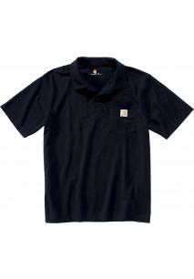 Contractor's polo shirt