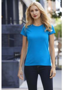 Premium Cotton® Ring Spun Semi-fitted Ladies' T-shirt