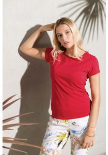 Dames-t-shirt BIO-katoen ronde hals
