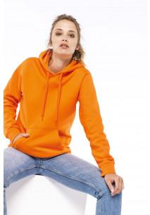 Damessweater met capuchon
