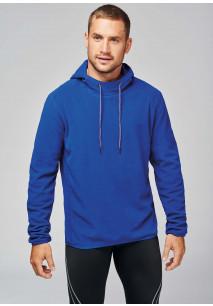 Hooded sweater van microfleece