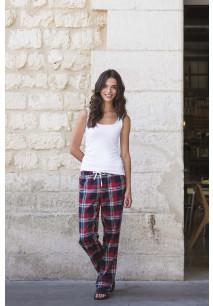 Women's tartan lounge trousers