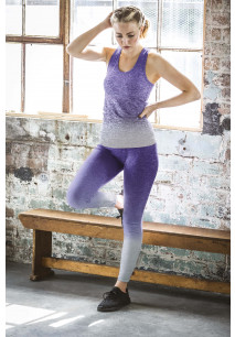 Ladie's seamless fade-out leggings