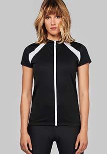 Dames-fietsshirt Korte Mouwen