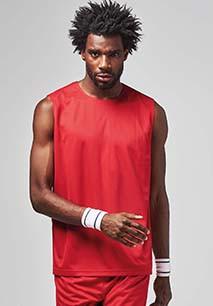 Unisex Omkeerbaar Sportshirt