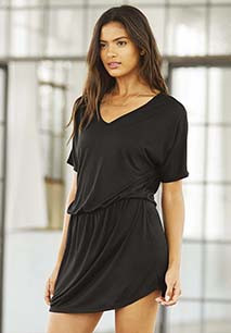 Women's Flowy V-neck Tank Dress