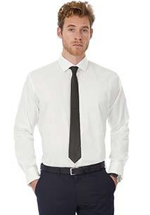 Black Tie Men's stretch shirt