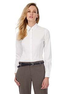 Black Tie Ladies' stretch shirt