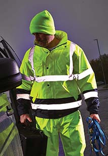 High Visibility Two Tone Pilot Jacket