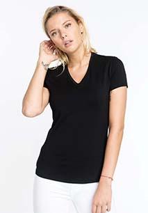 Electra - Dames-t-shirt met V-hals