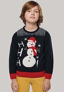 Pullover Ho Ho Ho voor kinderen