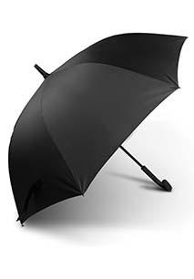 Klassieke paraplu met rond handvat