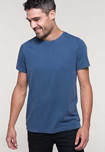 Heren-t-shirt met korte mouwen