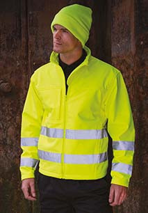 High-viz Soft Shell Jacket