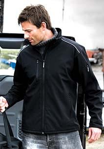 Ripstop Softshell Workwear Jacket with Cordura®