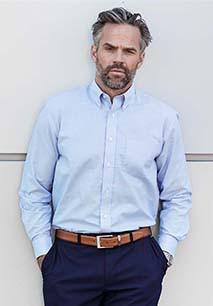 Mens' Long Sleeve Easy Care Oxford Shirt