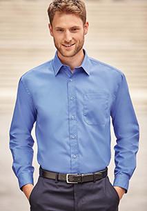 Men's Ls Pure Cotton Easy Care Poplin Shirt
