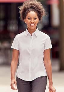 Ladies' Short Sleeve Ultimate Stretch