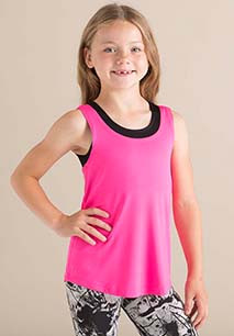 Kids' fashion workout vest