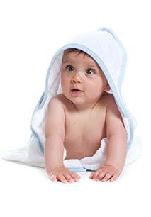 Babies' Hooded Towel