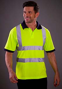 High Visibility Short Sleeve Polo Shirt