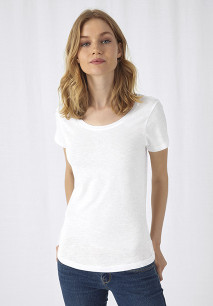 SLUB Organic Cotton Inspire T-shirt / Woman