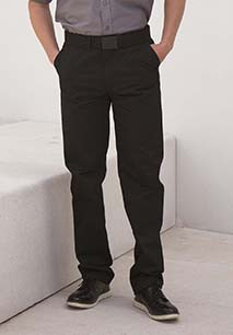 Men's 65/35 Flat Fronted Chino Trousers