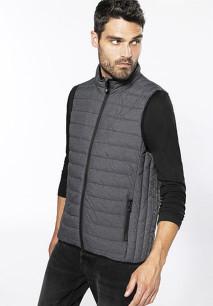 Men's lightweight sleeveless down jacket