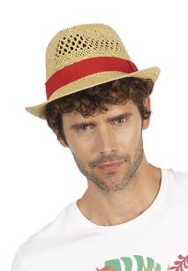 Strohoed in Panama-stijl
