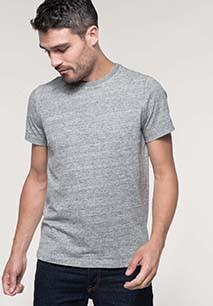 Vintage heren-t-shirt met korte mouwen