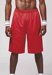 Omkeerbare Unisex Basketbalshorts