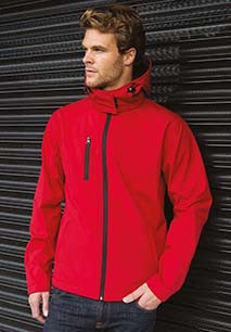 Core Tx Performance Hooded Soft Shell Jacket