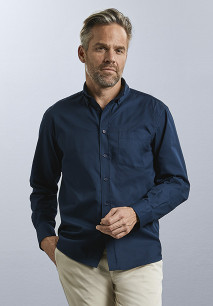 Men's Long Sleeve Classic Twill Shirt