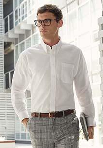 Long Sleeve Oxford Shirt (65-114-0)