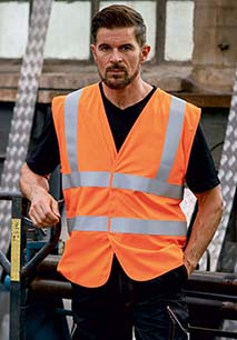 High Visibility, Anti-Static And Flame Retardant Gilet