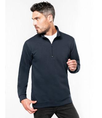 Sweater met ritshals