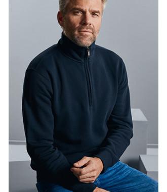 Sweater met ritskraag Authentic