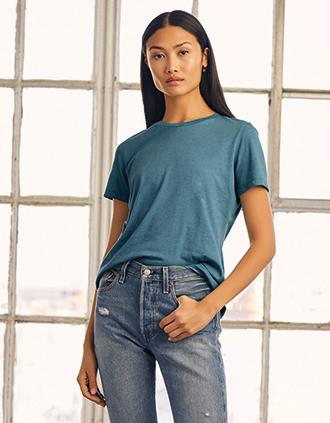 T-shirt ronde hals Heather