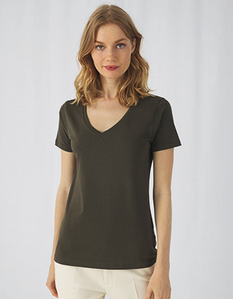 Organic Cotton Inspire V-neck T-shirt / Woman