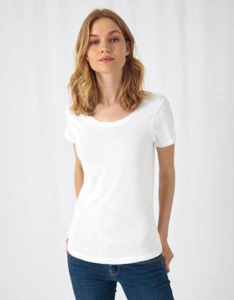 SLUB Organic Cotton Inspire T-shirt / Woman