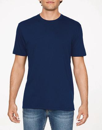 Buisvormig T-shirt voor volwassenen met print Softstyle