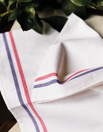 Theedoek met 2strepen Origine France Garantie