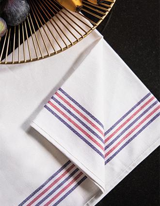 Theedoek met 5strepen Origine France Garantie