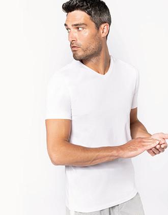 T-shirt korte mouwen V-hals