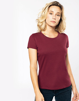 Dames-t-shirt BIO150 ronde hals