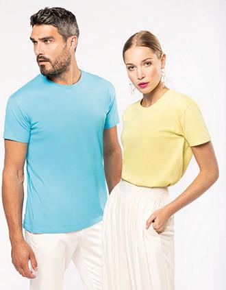 Unisex t-shirt met ronde hals Bio190