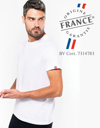 "Biologisch heren t-shirt ""Origine France Garantie"""