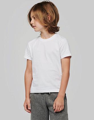 T-shirt ronde hals korte mouwen kids