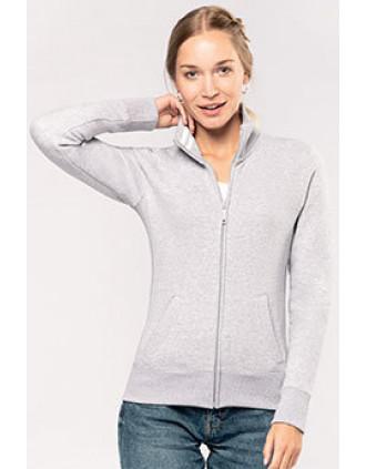 Damessweater met rits